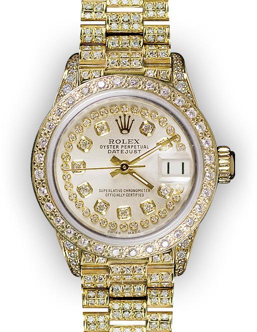 83a4689db ساعات رولكس أصلية مع شهادة Rolex Super President مميزة ونادرة جداً